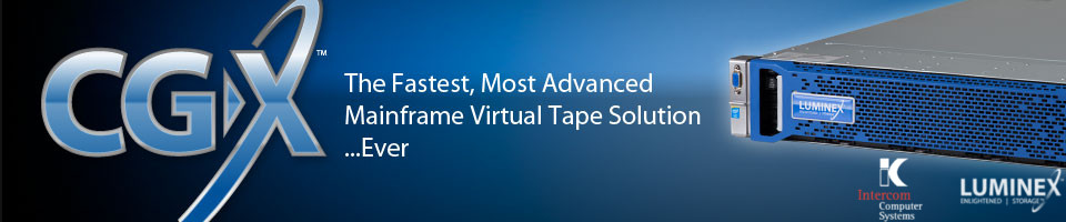 CGX: The fastest Mainframe Virtual tape Solution